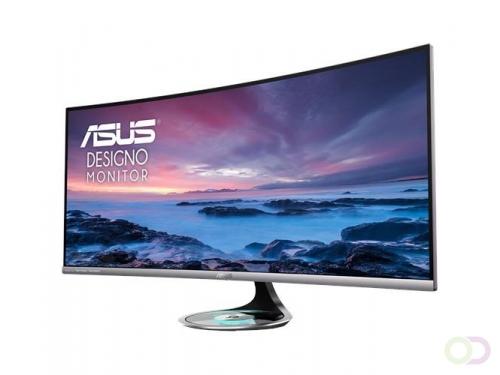 "ASUS MX38VC computer monitor 95,2 cm (37.5"") 3840 x 1600 Pixels Ultra-Wide Quad HD+ LED Gebogen Zilver"