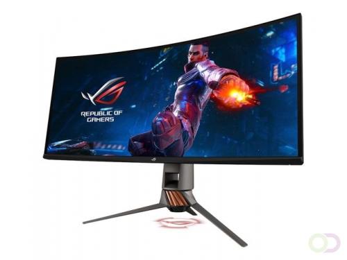 """ASUS PG349Q computer monitor 86,7 cm (34.1"""") 3440 x 1440 Pixels UltraWide Quad HD LED Gebogen Koper, Titanium"""