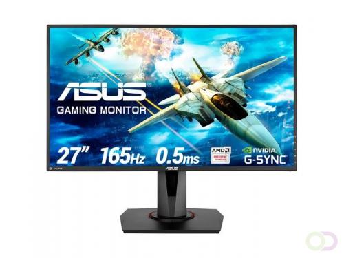 "ASUS VG278QR computer monitor 68,6 cm (27"") Full HD LED Flat Mat Zwart"